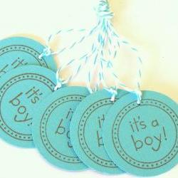 It&#039;s A Boy Tags - Set of 5