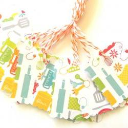 Kitchen Gadget Tags - Set of 10