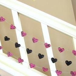 Bachlorette Heart Garland - 3 yards